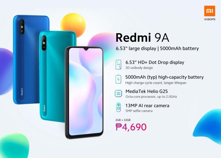 Смартфон Xiaomi Redmi 9a-5