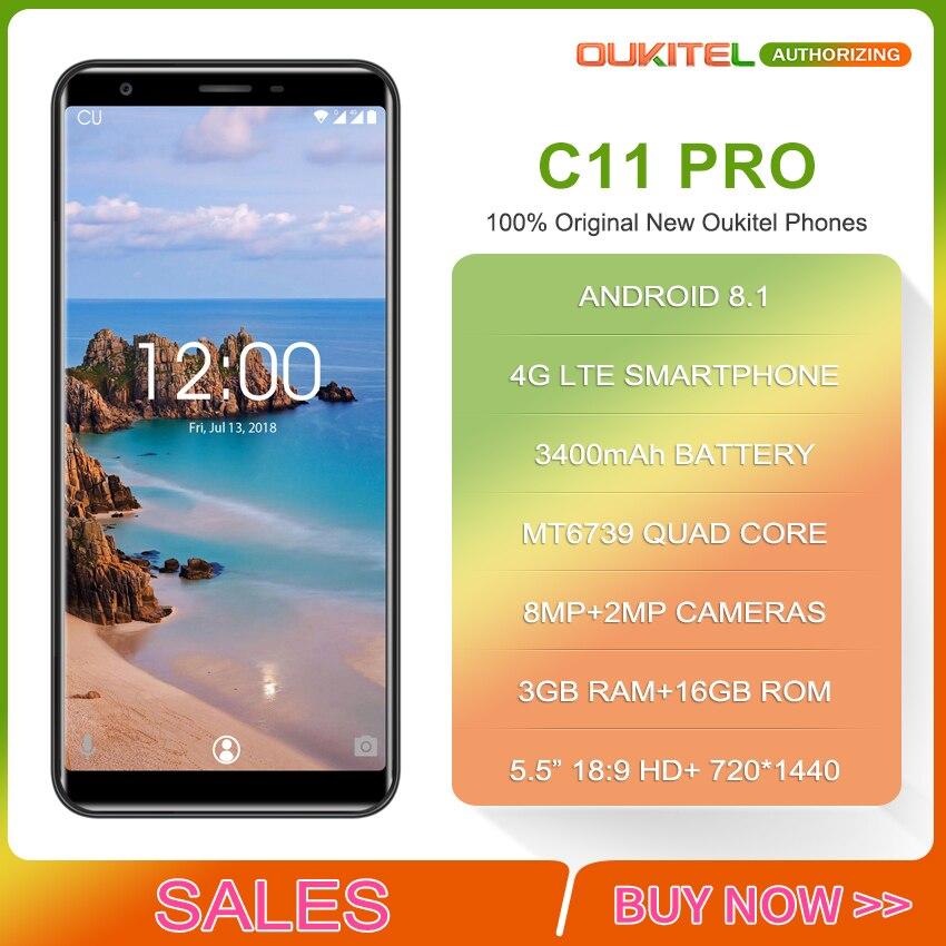 OUKITEL-C11-Pro-4G-LTE-5-5-18-9-MTK6739-4-Face-ID